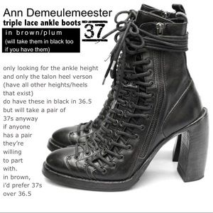 239b33c9eb61 Shoes - ISOs    ann demeulemeester    free people